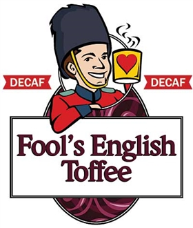 Fool's Decaf English Toffee / 12oz