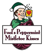 Fool's Peppermint Mistletoe Kisses / 12oz