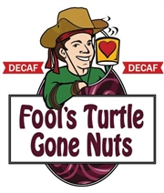 Fool's Decaf Turtle Gone Nuts / 12oz