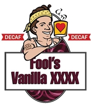 Fool's Decaf Vanilla XXXX / 12oz