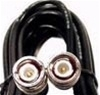 RG58 Jumper Cable, 3', BNC Male to BNC Male