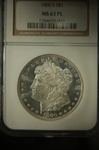 NGC Certified 1880 S Morgan Dollar M-63 PL