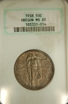 NGC Certified 1938 Half Dollar Oregon Trail Commemorative MS-65