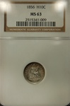 NGC Certified 1856 Seated Liberty Half Dime MS-63