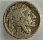 1913 Buffalo Nickel Type 2