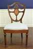 "Leighton  Hall ""Inlaid Shield Back"" Fine Dining Side Chair, Conference Side Chair"