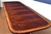 Large Flaming Mahogany Conference Table, 10ft. Clipped, Scalloped $10,000