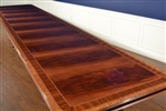 American Crafted Mahogany Conference Table 16, 20, 24, 28 Ft. Retail $17,000