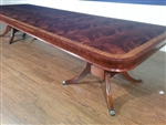 American Made Flaming Mahogany Conference Table, Over 13 ft. Long  $15000 Retail