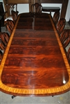 American Made Mahogany Conference Table, 10 ft. Long  $10,000