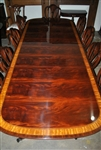 American Made Mahogany Conference Table, 12 ft. Long  $12,000