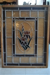 Rectangular Stained Glass (2 Available)