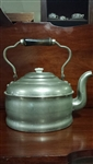 Historical Provenance Rochester Kettle, Metal, Copper, Wood Handle