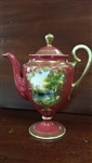 Noritake Hand Painted Demitasse Chocolate, Coffee Pot With Lid