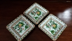 Set of 3 Small Asian Trinket Dishes