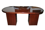 Oval Center Table, Desk, Credenza