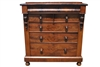 Antique English Mahogany Chest of Drawers