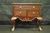 Chippendale Jewelry Box, Carved Mahogany, Ball & Claw Feet