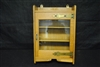 Antique Golden Oak Era Wall Cabinet Ca 1890