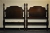 "Antique Pair of Twin Beds by Richter of New York 47""H"