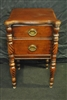 Antique Mahogany Empire Style Side Table