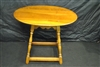 Leopold Stikley 1955 Cherry Oval Side Table