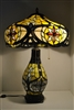 Beautiful Tiffany Style Stained Glass Table Lamp