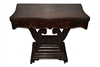 "Antique Empire Flip Top Game Table,  Mahogany 36""W"