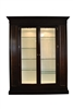 Showroom Sample Councill Langdon China Cabinet, Brownstone Collection