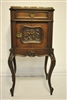 Antique French Rococo Marble Top Cabinet