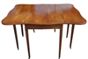 Vintage Brandt Swing Leg Drop Leaf Table