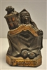 Antique Ye Bookworm Bookend Armor Bronze Company