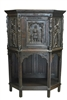 "French Gothic Cupboard 59""H"