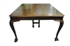 Antique Chippendale Style Ball & Claw Foot Dining Table