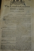 Historical Newspaper The London Gazette, 7 November 1871, Original