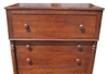"Antique American Empire Gentleman's Chest of Drawers 47""H"
