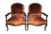Oversize Antique French Armchairs