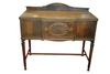 Antique Sheraton Style Server, Sideboard, Mahogany