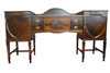Antique Sheraton Style Sideboard, Buffet, Mahogany