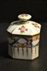 Old Sevres Porcelain Jar & Lid