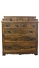 Antique Gentleman's Chest of Drawers, Walnut