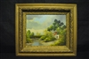 Original Oil On Canvas Painting, Signed K. Schmidt