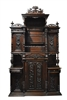 French Renaissance Revival Henri II Cabinet 1800 to 1899