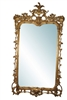 "Carved Venetian Mirror Gold Gilt  70""H"