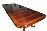 Floor Sample Drexel Robinson 11 ft Long Mahogany Conference Table, Retails $8,000