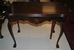 Chippendale Style Mahogany Game Table , Dining Table, Circa1920