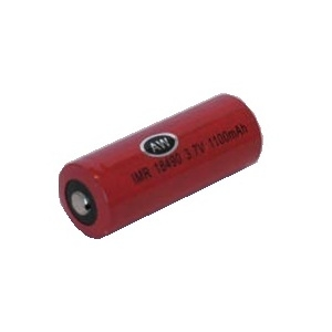 AW IMR 18490/18500 3.7v 1100mAh, High Drain Battery