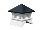 Vinyl Shed Cupola's W/ Aluminum Roof
