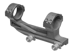 Scope Mount 1-piece 34mm, elevated, black