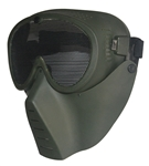Airsoft Tactical gear wholesale distributor dropshipper TG008AG-5 Green Metal Mesh Protective Mask (5 pcs) - 3L-INTL